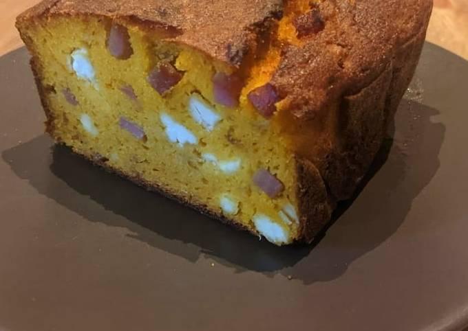 Cake butternut jambon feta