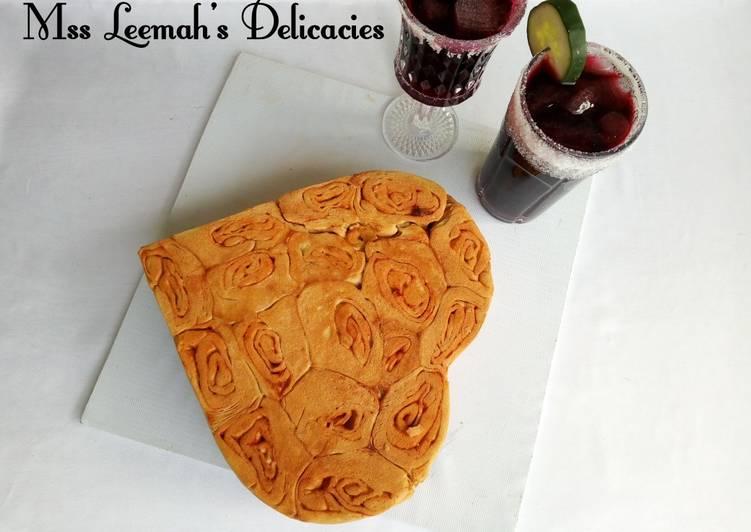 Simple Way to Make Award-winning Potatoes Swirl Bread