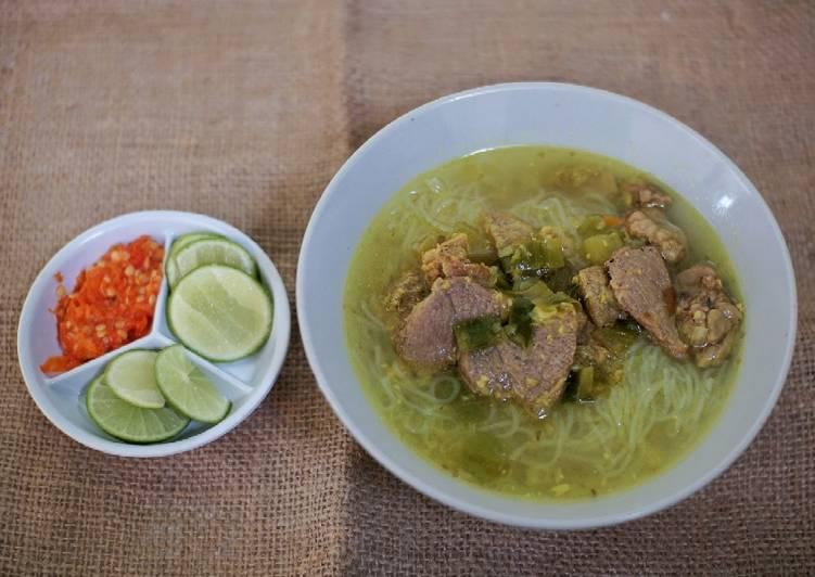 Soto Sapi Asli Lamongan - cookandrecipe.com