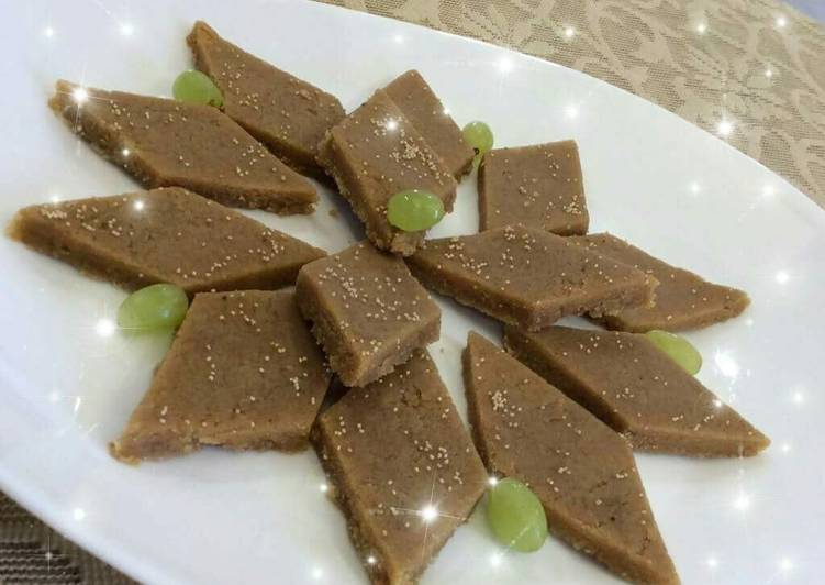 Recipe of Any-night-of-the-week Shukhadi /gor papdi /gud papdi