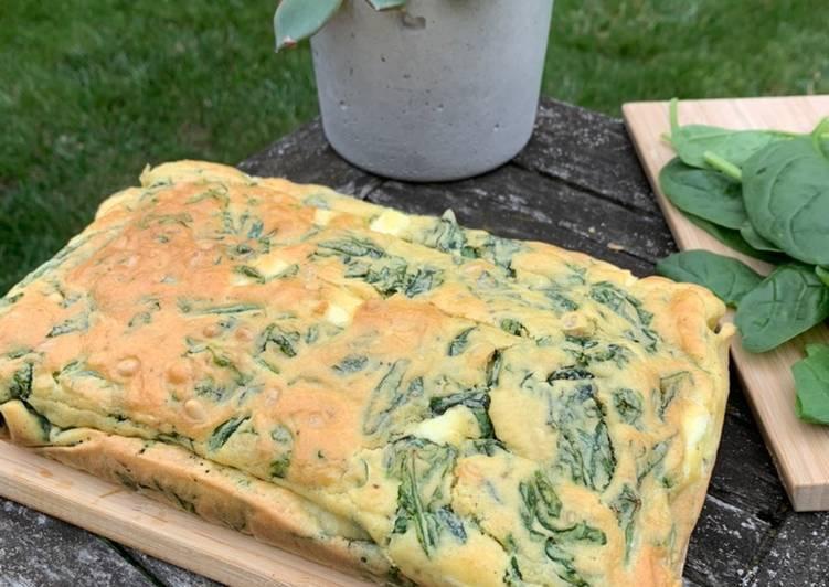 recette Cake épinards et Feta délicieux