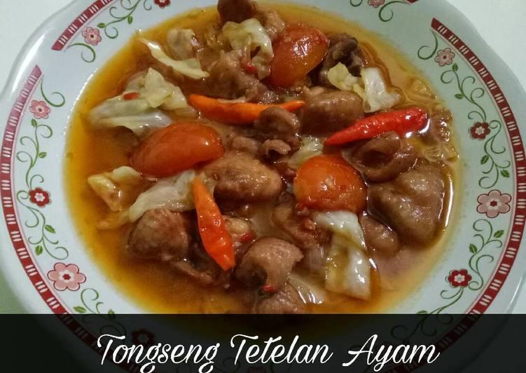 Resep Tongseng Tetelan Ayam Oleh Dipha Dhip Cookpad