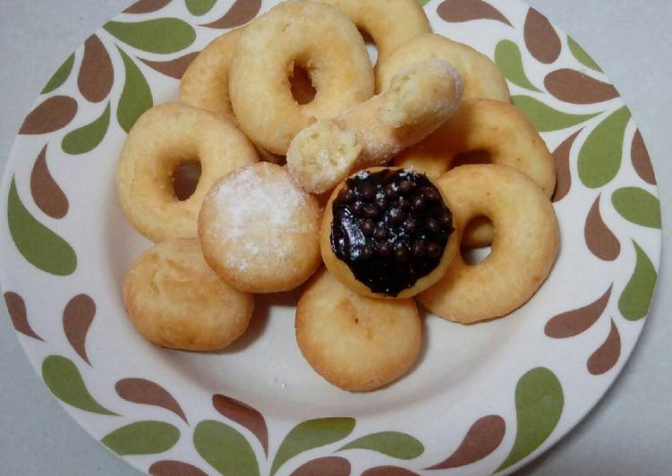 Donat kentang mini
