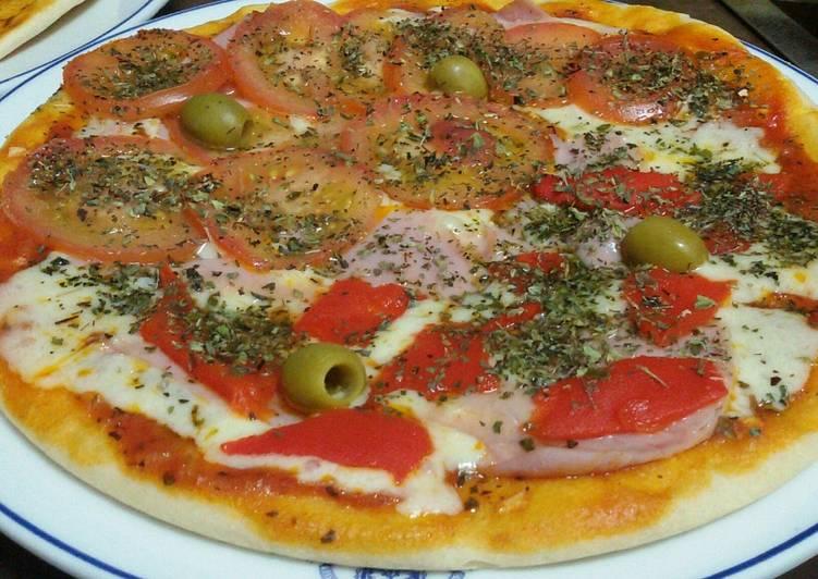 receta de pizza levadura fresca
