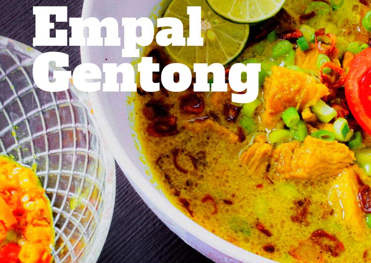 Resep Empal Gentong (daging empuk tanpa presto) irit untuk jualan