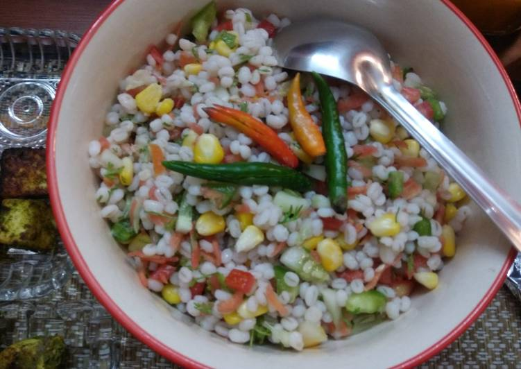Step-by-Step Guide to Make Speedy Barley Salad