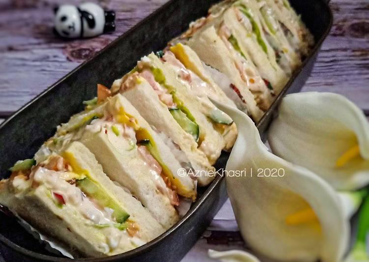 Resepi:  Sandwich Tuna Telur  Sempena PKP