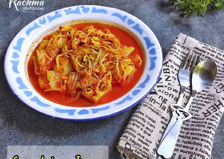 Sundubu Jigae / Sup Tauge ala Korea