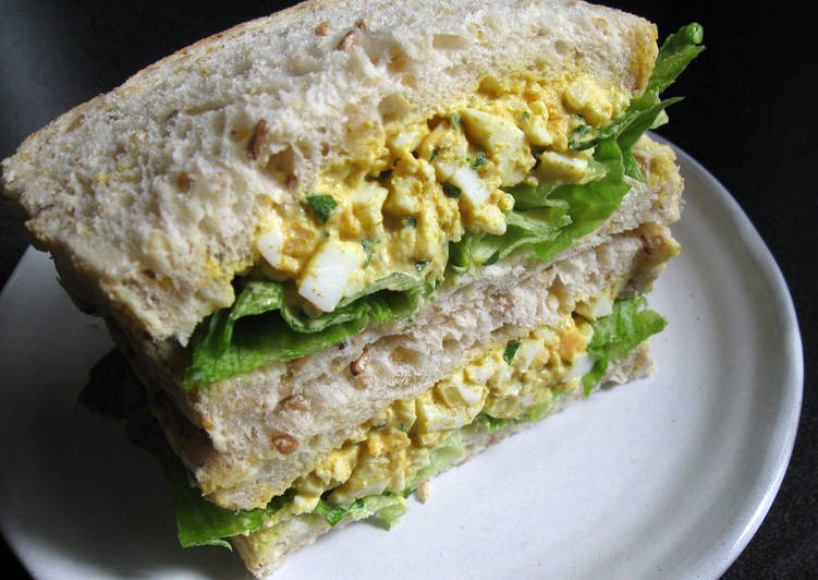 Curry Flavoured Egg Salad