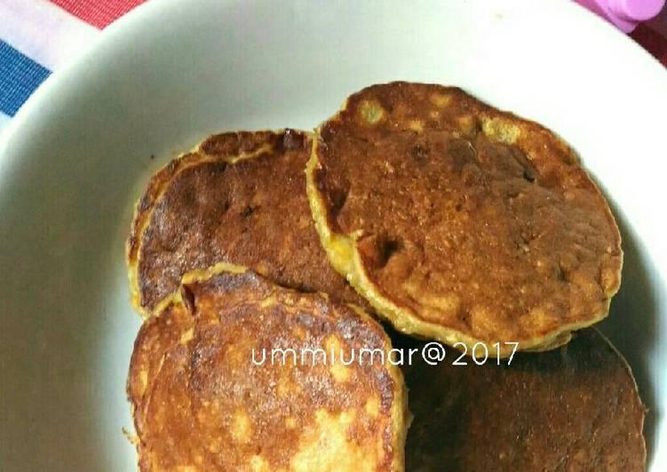 Pancake oat pisang