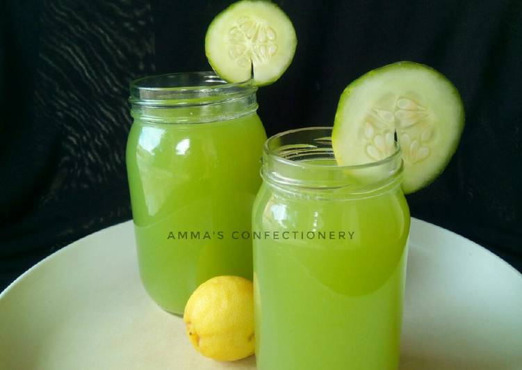 Simple Way to Prepare Quick Cucumber Lemonade