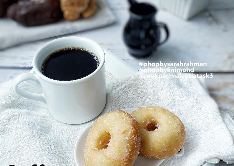 Resepi:  Donut Gula  Lazat