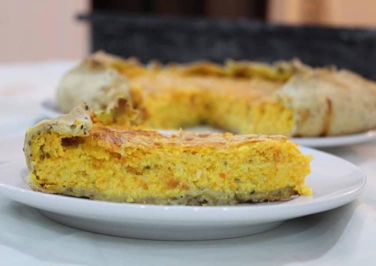 Tarta De Choclo Calabaza Y Zanahoria Receta De Made In Casa Cookpad