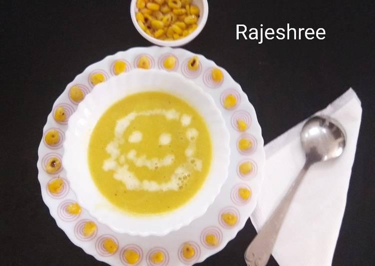 Recipe of Homemade Pumpkin Corn Soup