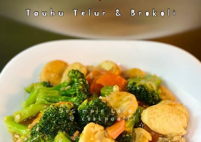 Sayur Tauhu Telur & Brokoli Cantonese