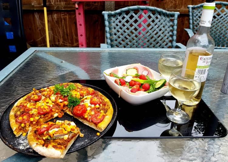 Easiest Way to Prepare Tasty My Homemade Veggie Pizza 😀