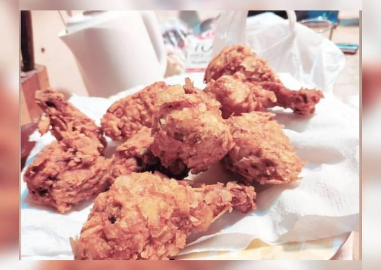 Recipe: Tasty FRIED CHICKEN #cookpadramadan