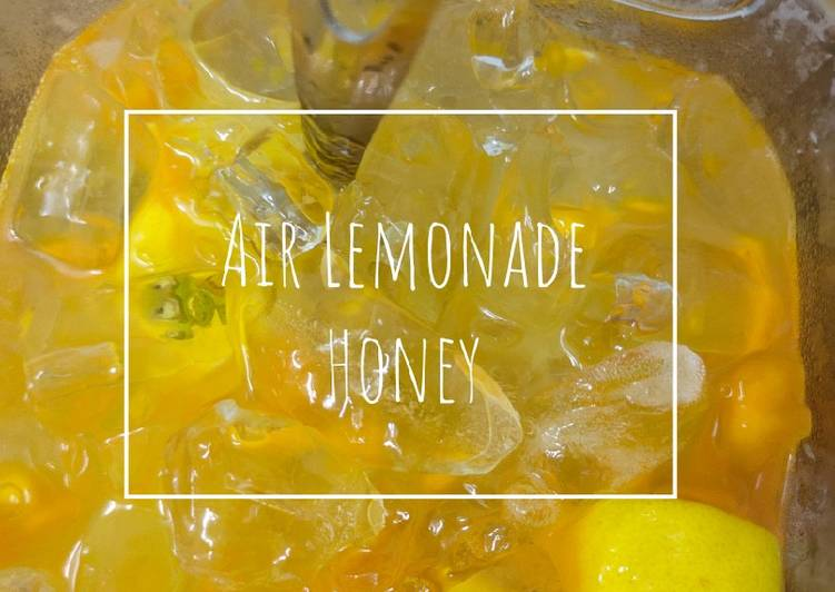 Air Lemonade Honey - resepipouler.com