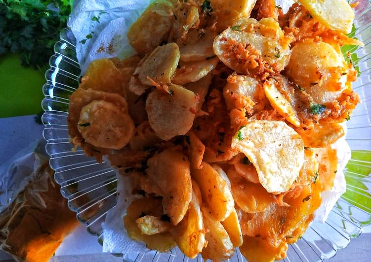 Step-by-Step Guide to Prepare Perfect Tumeric bhajias #themechallenge