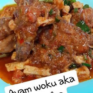 Ayam woku aka ayam rica-rica