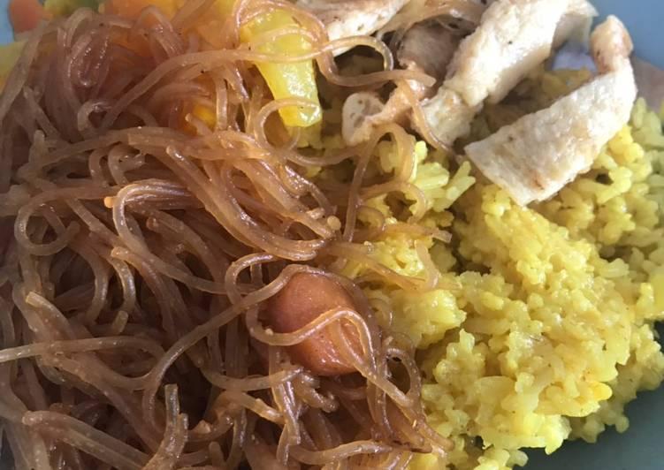 Nasi Kuning Magic Com praktis