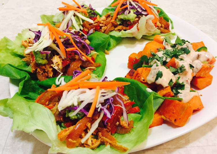 Quick and Easy Recipe: Appetizing Chicken Lettuce Wraps