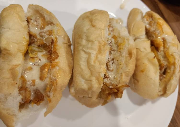 Simple Way to Make Perfect Chicken Shawerma Sandwich #newcookschallenge