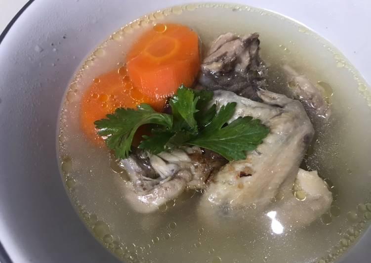 Resep Sup Ayam Segar dan Mudah Yang Simple Lezat