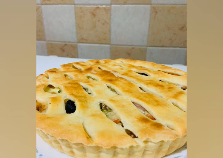 30 Minute Recipe of Winter Peri Peri Pizza Pie! 🍕