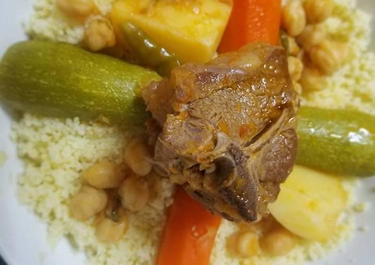 Couscous Algerian way 😜🇩🇿