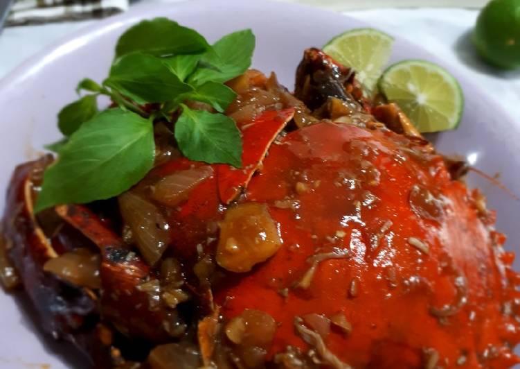 Kepiting Pedas Saus Tiram