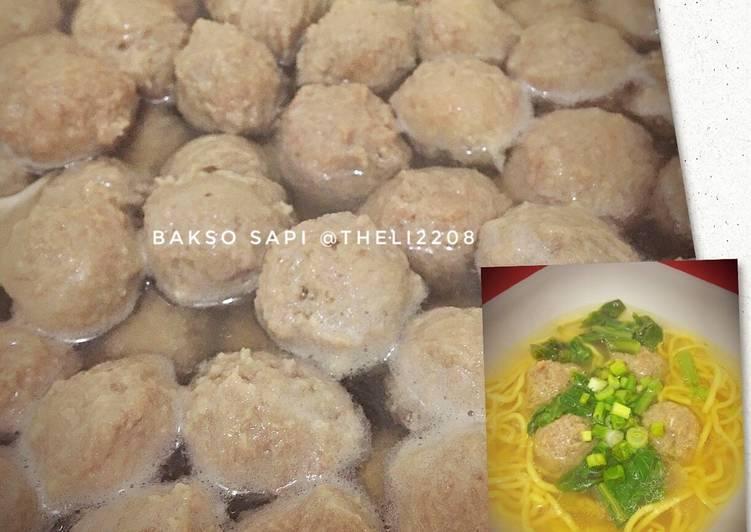 Resep Bakso Sapi Blender Kuah Oleh Theresia Linda Cookpad