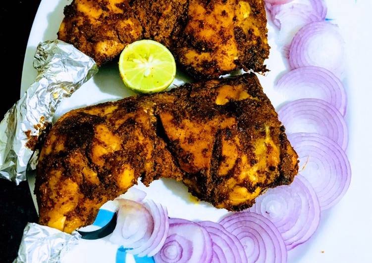 Recipe: Perfect Half chicken grill