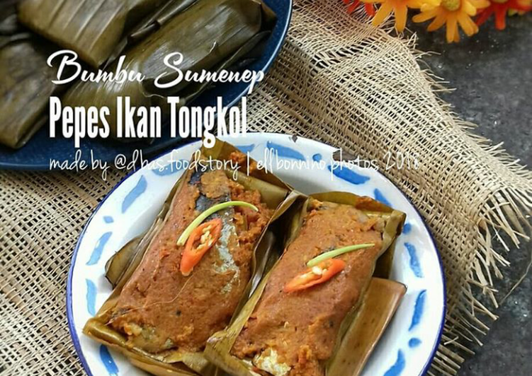 resep paessa jukok pepes ikan tongkol bumbu madura oleh ellisa dbasfoodstory cookpad resep paessa jukok pepes ikan tongkol