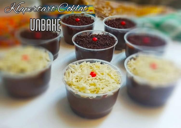 Klapertart Coklat Unbake