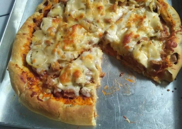 Pizza sosis Mozarella cheese