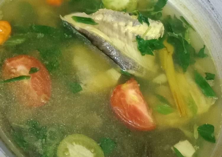 Sop Ikan Bawal / Pindang Srani