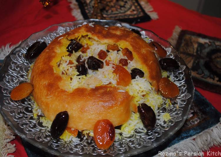 Simple Way to Prepare Perfect Rice with dried fruits (Shirin polow)