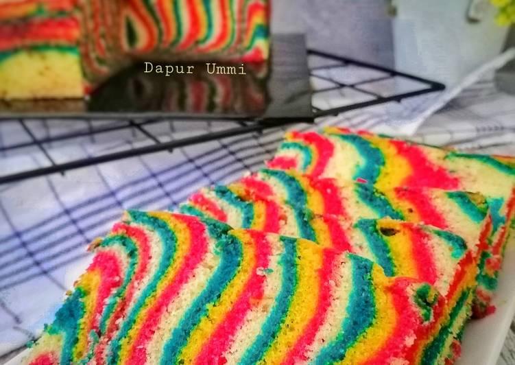 Resepi:  Kek Batik Arora Merdeka Simple