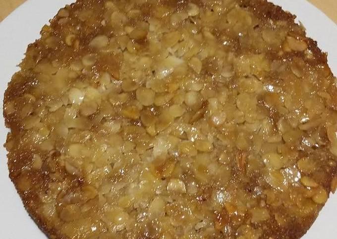 Gâteau pommes miel amandes