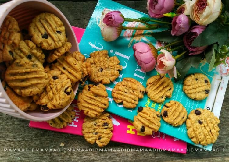 Crunchy choco cips cookies renyah