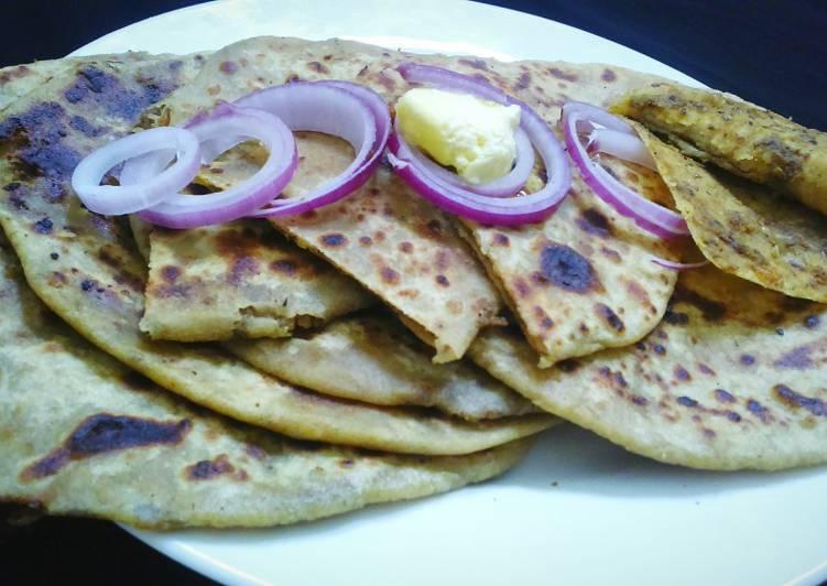 Recipe of Perfect Gahat dal ka paratha (kulthi ka paratha)
