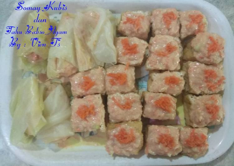 Somay Kubis dan Tahu Bakso Ayam