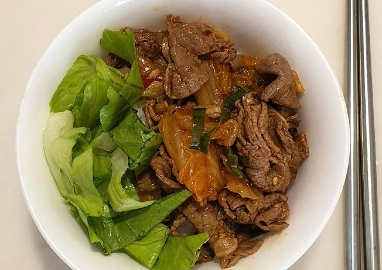 Sapi Kimchi