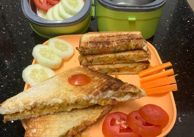 Kids Lunchbox Sandwich Recipe By Senguttuvan Subburathina Cookpad