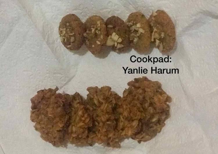 Muesli Cookies (No Egg, No Sugar, Gluten Free, ASI Booster/ untuk Busui & Vegetarian friendly)