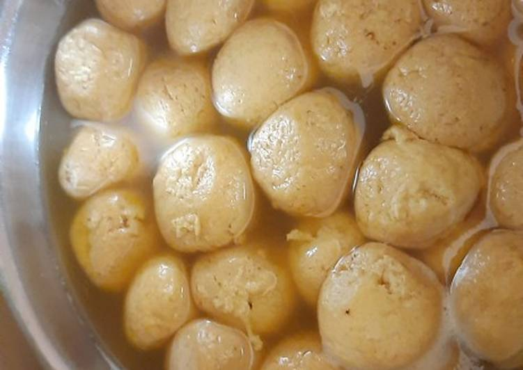 Easiest Way to Make Any-night-of-the-week Jaggery rasgulle