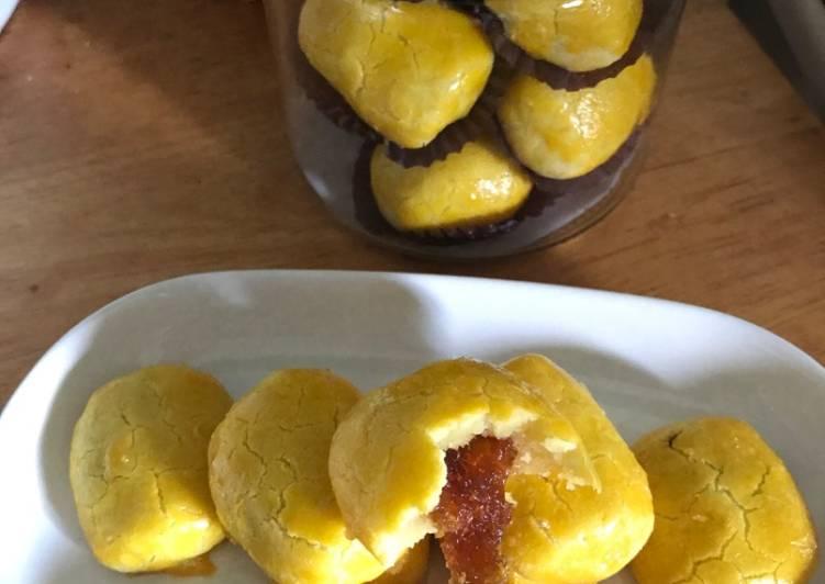 Nastar Renyah isi Selai Nanas- Pineapple Cookies