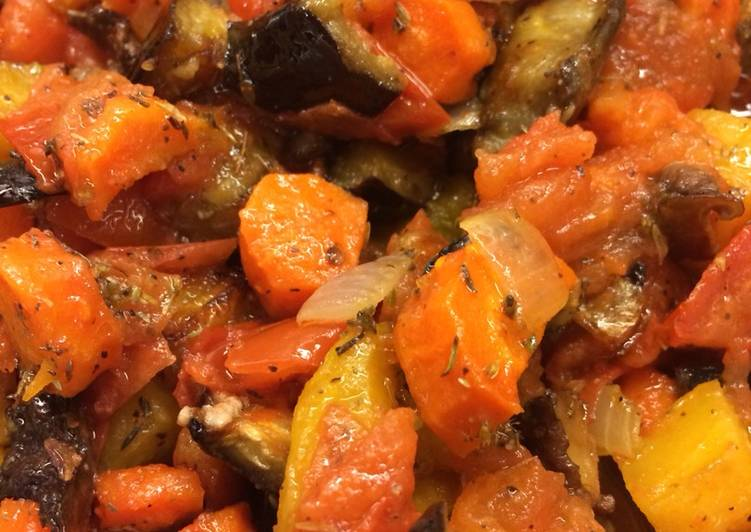 Recipe of Award-winning Roasted Vegetable Ratatouille