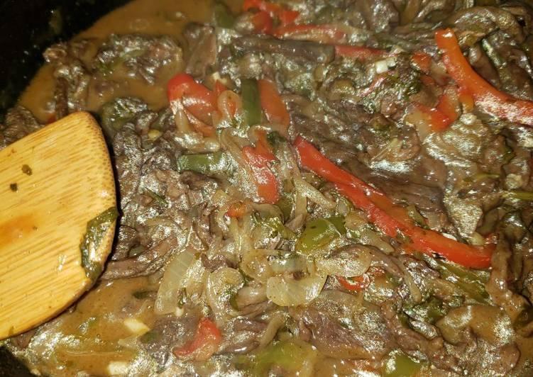 Recipe of Favorite Steak fajitas my way